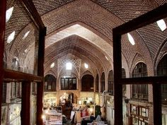 Tabriz bazaar, ancient world trade center Tabriz Historic Bazaar Complex, as one of the oldest bazaars in the Middle East, has been an important commercial center on the Silk Road. Located in Iran's northwestern province of East Azerbaijan, Tabriz bazaar has been named the largest roofed bazaar in the world.