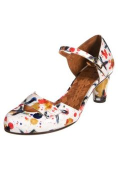 PERET - Classic heels - weiss/multicolor