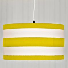 Deck Stripe Shade Pendant Light