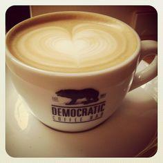 Democratic Coffee Bar, Copenhagen - @Guided by 'dot the i'