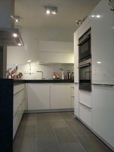 küche, modern, schwarz, weiß, grau, beton, stein, tafel ... | {Küchen modern l-form grau 99}