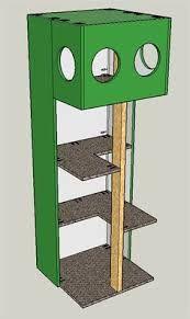 Bildergebnis für cat tree design plans