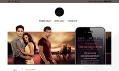 online portfolio of designer marek piatek