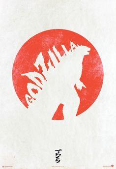 new poster for Godzilla 2014