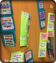 """Regrouping with subtraction foldables, plus a SONG """"Step into 2nd Grade with Mrs. Lemons: Lots going on here!"""""""