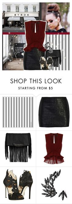 """""""Self"""" by chey-love ❤ liked on Polyvore featuring BYRON, Steve Madden, Isabel Marant, La Perla and Luxury Fashion"""