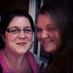 Me and my best friend, sister if you will :) love her to the moon and back