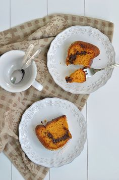 Pineapple and Mint: Pumpkin Bundt with Chocolate and Cinnamon Swirl