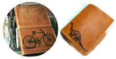 58 Unique Gifts for Travelers Leather Travel Journal, Travel Journals, Leather Accessories, Travel Accessories, Handmade Leather, Leather Craft, Guitar Straps, Travel Gifts, Asheville