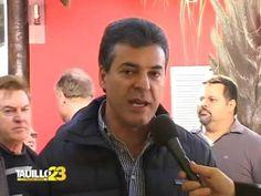 Governador Beto Richa declara seu apoio ao candidato mais preparado para administrar Campo Mourão: Tauillo Tezelli