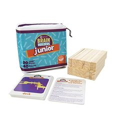 MindWare KEVA Junior Brain Builders Playset MindWare