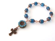 Mini Rosary Beads  Catholic Chaplet  Handmade by AngelRosaries