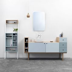 Collage vanity unit by Ex.t | LOVEThESIGN