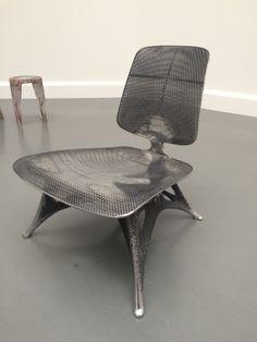 Microstructures chair by Joris Laarman, at Van Abbemuseum