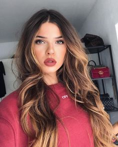 k mentions J'aime, 549 commentaires – Iva Nikolina Juric (Iva Nikolina) s… - Modern Cabelo Ombre Hair, Balayage Hair, Natural Hair Styles, Long Hair Styles, Pinterest Hair, Brunette Hair, Hair Highlights, Pretty Hairstyles, Popular Hairstyles