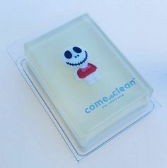 Come Clean Smiling Skeleton Glycerin Soap by shopheydoyou on Etsy