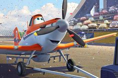 """Planes"""" is in the """"Cars"""" lineage, with John Lasseter's DNA (he is executive producer) and an absence of human characters; the planes and other machines here do their own talking and thinking. Description from nytimes.com. I searched for this on bing.com/images"""