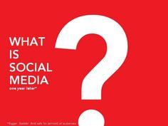 what-is-social-media-2005829 by Martafy! via Slideshare