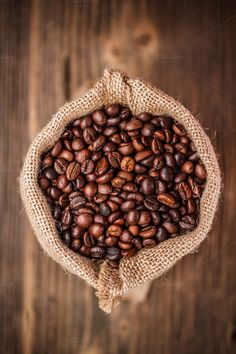 Coffee beans by Grafvision photography on Creative Market