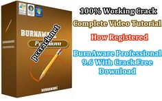 """BurnAware software compact but professional to burn discs with CD, DVD, Blu-ray """".  via @https://www.pinterest.com/pccrack/"""