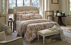 Sheridan - atwood ruffled quilt cover - quilt covers - bedroom - Luxury bed linen, quilt covers, sheets, towels and accessories