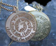 Spiral Necklace Silver