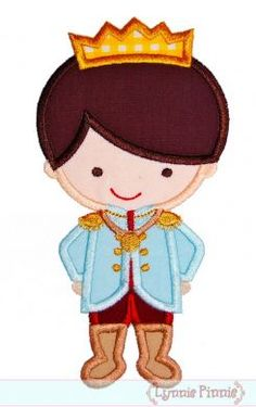 Embroidery Designs - Little Prince Applique 4x4 5x7 6x10 - Welcome to Lynnie Pinnie.com! Instant download and free applique machine embroidery designs in PES, HUS, JEF, DST, EXP, VIP, XXX AND ART formats.