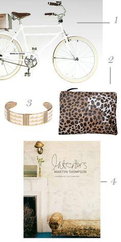 Four Favorites--Brooklyn Cruiser Bike!