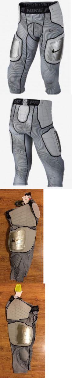 553972c60eca1 Protective Gear 21224: Nike Pro Combat Hyperstrong Football Pads Gray Black  3 4 Pants Girdle