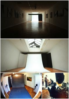 Overkill Studio - Philadelphia, PA. Raw, white-washed shooting space with a giant skylight.