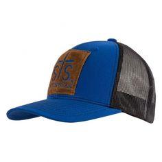 STS Patch Cap - Royal Blue / Black | STS Ranchwear