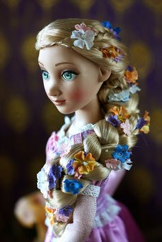 I absolutely LOVE this doll! I am going to do my best to save up and get her!!    Tangled by Tonner Doll Co, via Flickr
