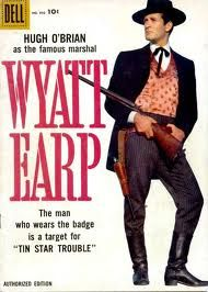 Wyatt Earp TV series 1955-61 with Hugh O'Brien