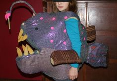 how to make a puffer fish costume - Google Search