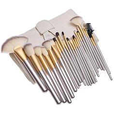 Alion Makeup Brushes Set 24 Piece | Professional Kabuki Makeup Brush Set Cosmetics Foundation Makeup Brushes Set Kits 1 OS *** For more information, visit image link. (This is an affiliate link) #MakeupBrushesTools