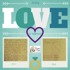 We just a happy ending! Read this letter we received from a newly couple: Romantic Love Stories, Happy Endings, Love Story, Wedding Planning, Couple, Jewellery, Lettering, Engagement, Reading