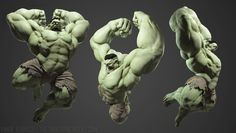 ArtStation - The Smashing HULK, Yanir Tearosh