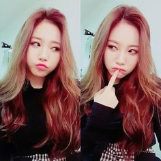 Girl's Day's Yura Challenges Followers To A Staring Contest - http://imkpop.com/girls-days-yura-challenges-followers-to-a-staring-contest/
