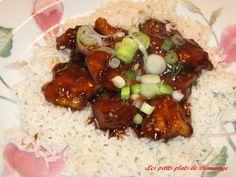 Les petits plats de Diane(ange): Poulet du Général Tao 2