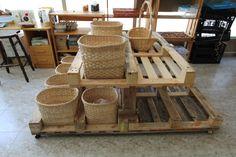 Mueble de graneles de la cooperativa ZOCAMINHOCA de Galicia.  Hecho con 3,5 palets