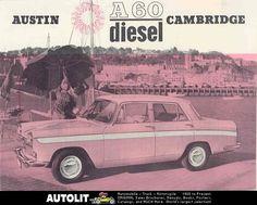 1965 Austin A60 Cambridge Diesel Sales Brochure wb5773-8EU685 | eBay