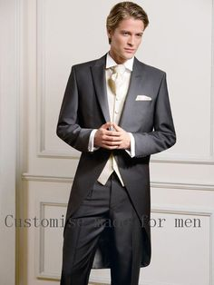 #Black #wedding #party #custommade #cheap #prom  #groomsmen #fit #for #OneButton #HOTSelling #NewSlim #WeddingSuits #GroomTuxedos #MenWeddingSuits #MenGroomSuit #Tuxedos #FormalGroomsmen #Jackets #Vest  #Pants