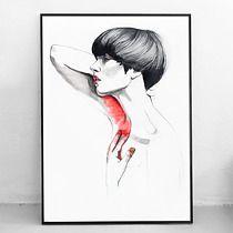 Kobieta XXVIII - 50x70 cm, Pako Studio
