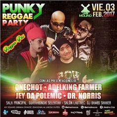 """El Molino presenta: """"Punky Reggae Party"""" http://crestametalica.com/el-molino-presenta-punky-reggae-party/ vía @crestametalica"""