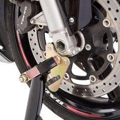 Saving Plus Heavy Duty 500kg Motorcycle Motor Bike Stand Scissor Lift Jack Workshop UK