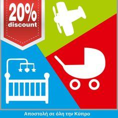 Απίθανες εκπτώσεις στα CXC Toys & Babies αυτή την Παρασκευή 07/07, Σάββατο, 08/07 και Κυριακή 09/07:  👶 25% στο παιδικό έπιπλο   👶 20% στα βρεφικά  👶 15% - 25%  στα καροτσάκια