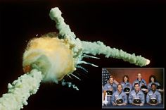 Disaster: The Space Shuttle Challenger disaster occurred on January when the craft broke apart 73 seconds into its flight. Challenger Space, Space Shuttle Challenger, Space Disasters, Challenger Explosion, Cape Canaveral Florida, 1980s Kids, Owl City, Through The Looking Glass, Space Travel
