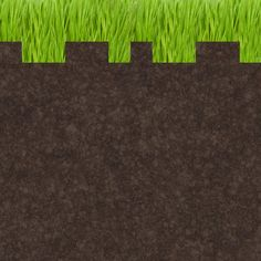 Grass Block Design One Wall Decal  4 Sizes by WilsonGraphics check all blocks available up to 12x12