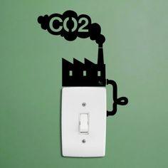 Sticker CO2