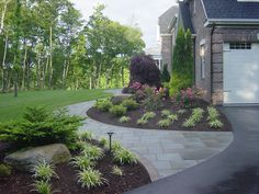 Front yard walkway landscaping front walkway landscaping ideas collection in sidewalk landscaping ideas front sidewalk ideas . Front Walkway Landscaping, Sidewalk Landscaping, Front Yard Walkway, Courtyard Landscaping, Modern Landscaping, Landscaping Design, Walkway Ideas, Walkway Garden, Rock Pathway